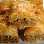 Baklava, le gâteau de la cuisine turque