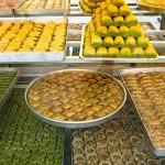 Boutique de baklava à Istanbul