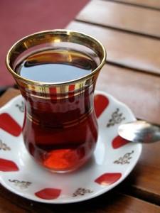 Thé turc ou çay