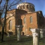 Eglise Sainte-Irène à Istanbul (devant ruine temple d'Aphrodite)