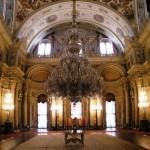 Salle du trône du Palais Dolmabahçe