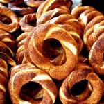 Simit, pain aux graines de sésame
