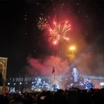 Célébration du nouvel an à Beyoglu