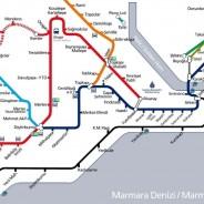 Transports publics à Istanbul: métro, tramway, train, bateau, bus