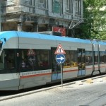 Tramway moderne d'Istanbul