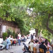 Les jardins de thé à Istanbul