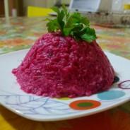 Pancar salatasi: Salade de betterave au yaourt