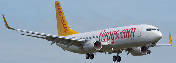 low cost pegasus airlines