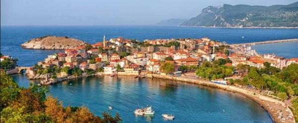 Paysage de la mer Noire