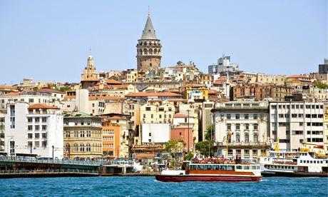 Vue sur le quartier de Beyoglu