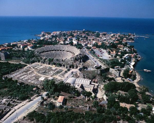 Vue sur Antalya