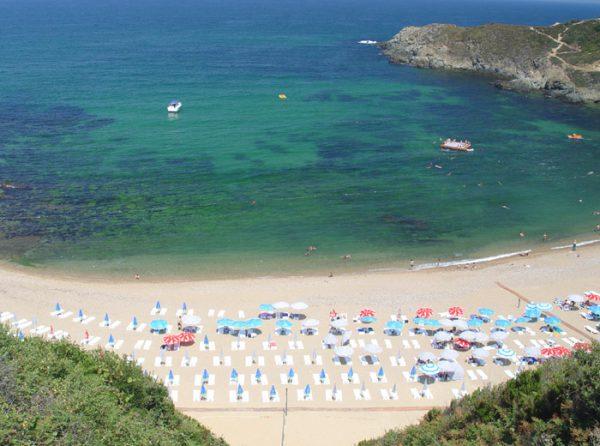 Plage au bord de la Mer Noire